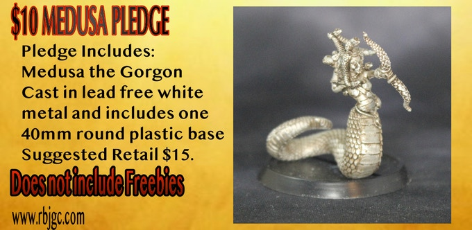 $10 MEDUSA THE GORGON