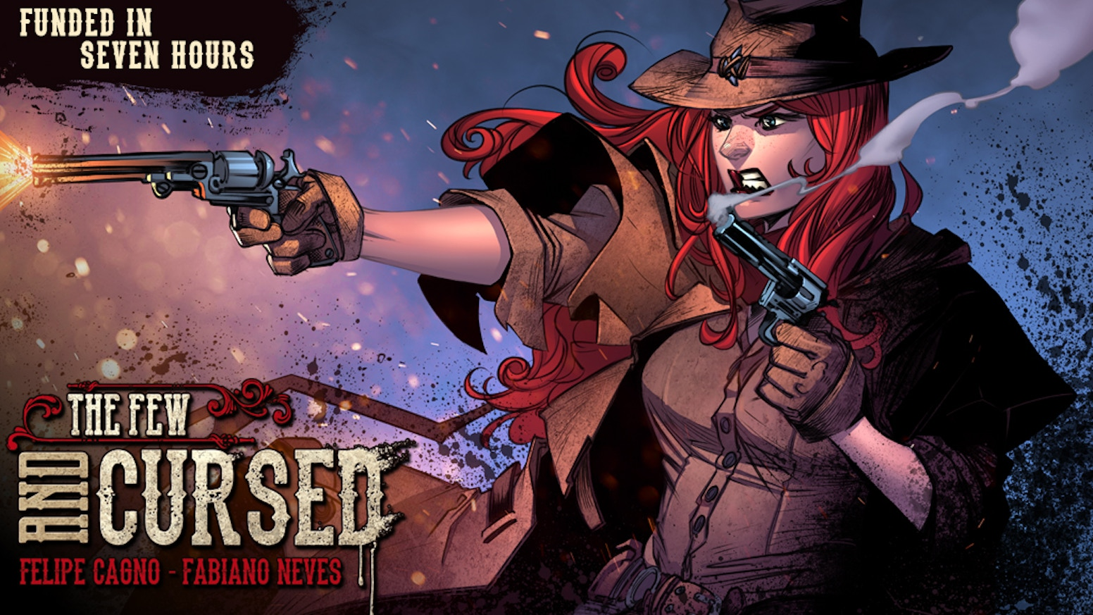 Join the Redhead in her hunt for The Crows of Mana'Olana in this epic supernatural western. Issues #1, #2 and #3 also available!
