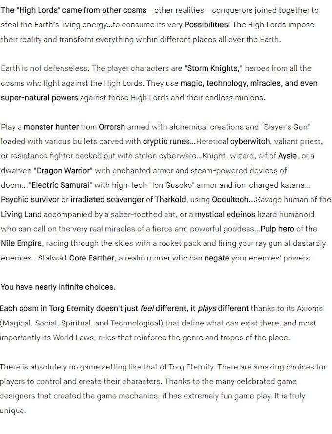 Torg Eternity - The Living Land by Ulisses Spiele — Kickstarter