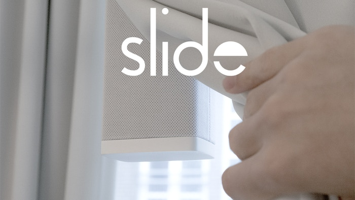 Automate your existing curtains in less than 15 minutes with Slide. A true smart home system using cutting edge technology designed for your modern lifestyle.