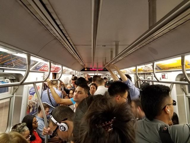 Classic L train 2017 (John Del Signore / Gothamist)