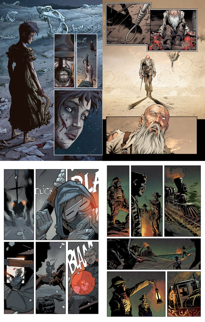 Sample pages from The Chronicles of The Few and Cursed