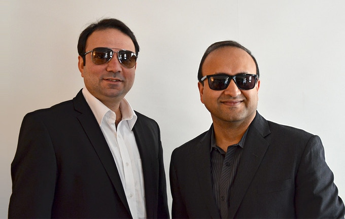 QG co-founders : Kaizad & Hemant