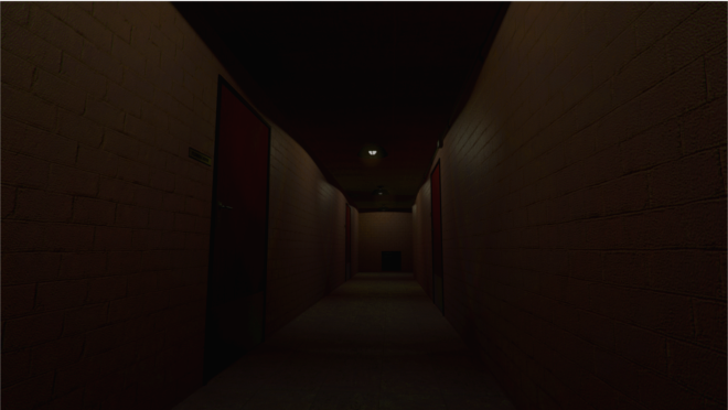 (These dark halls are your prison. They await your attempted escape.)