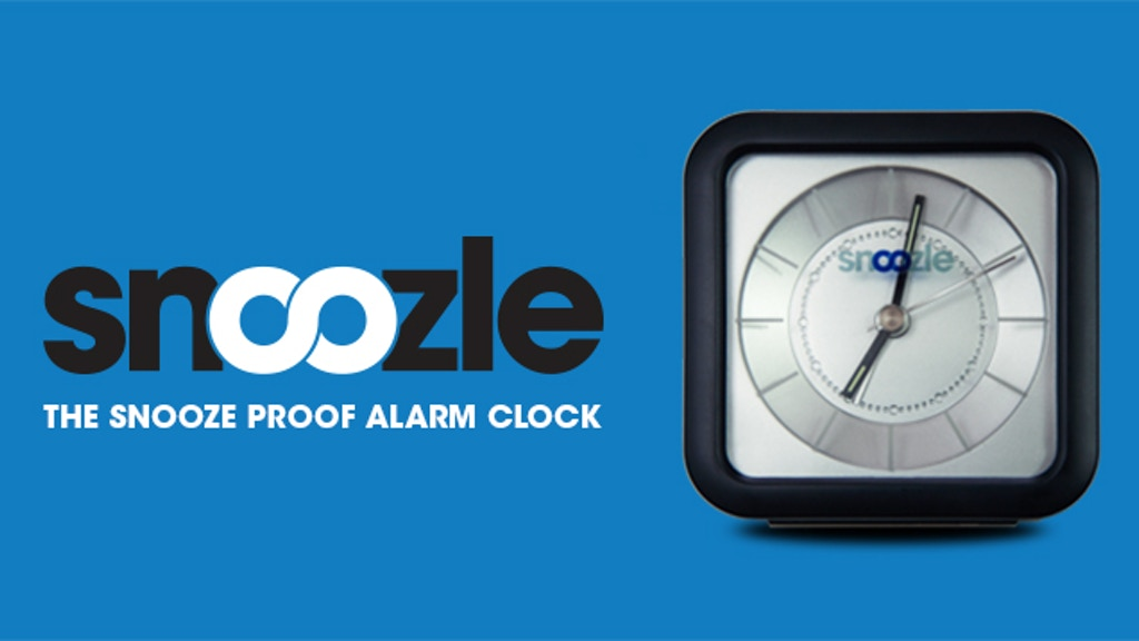new smart snooze proof alarm clock by valentin nicula kickstarter. Black Bedroom Furniture Sets. Home Design Ideas