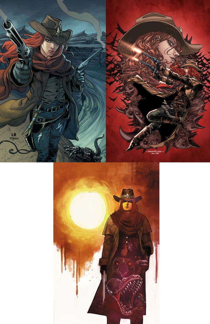 Set of 3x prints by Luke Ross & Marcio Menyz, Harvey Tolibao & Israel Silva and Rod Reis