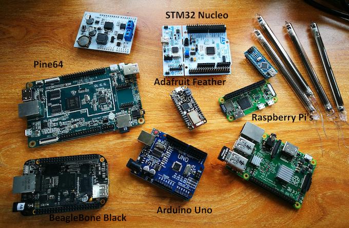 Nixie clock arduino shield by robin —kickstarter