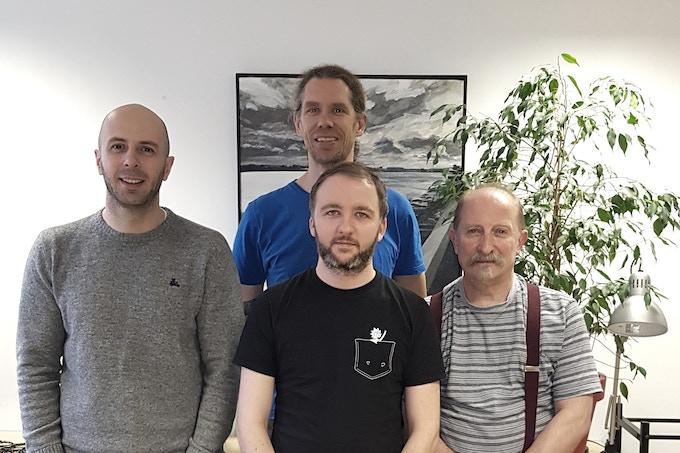 Ed, Martin, James and Paddy
