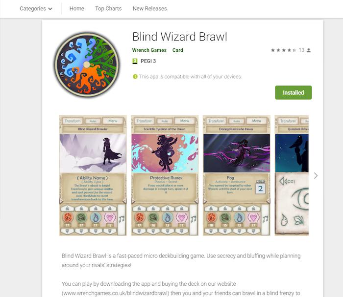 Blind Wizard Brawl by PixelBrady — Kickstarter