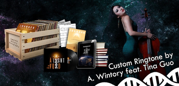 $400: A customized Wintory ringtone, performed by Tina Guo!
