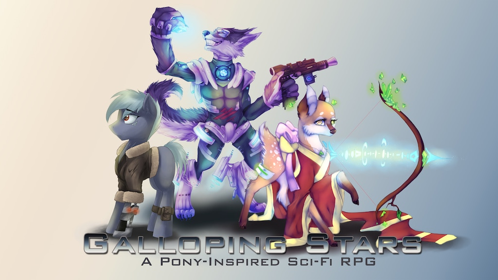 Galloping Stars RPG - A Pony-Inspired Sci-Fi RPG - Relaunch!
