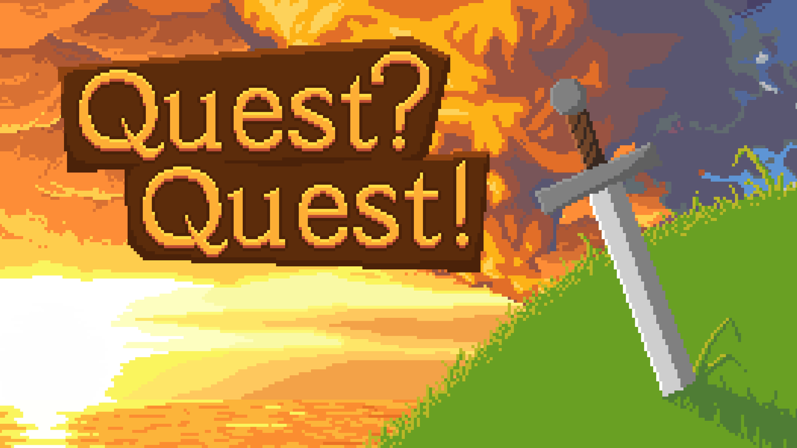 Quest?Quest! is a very original RPG