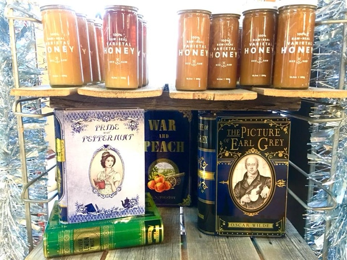 Shout out to The Book Store in Medina - One of our latest retailers to pick up our tins. :-)