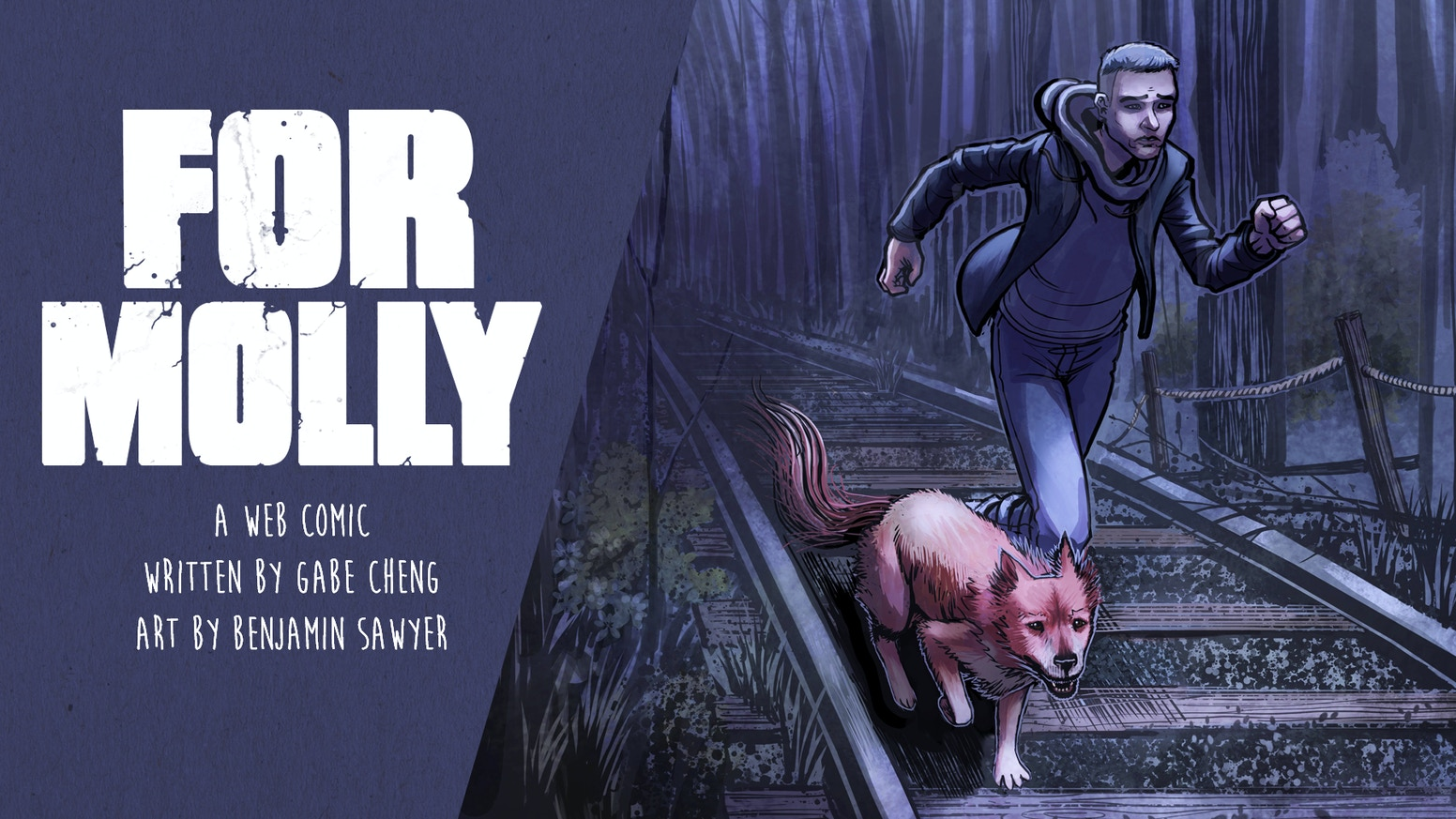 An anti-social talking dog helps a recently divorced New Yorker rescue his sister from an evil that lurks in the New Jersey forest.