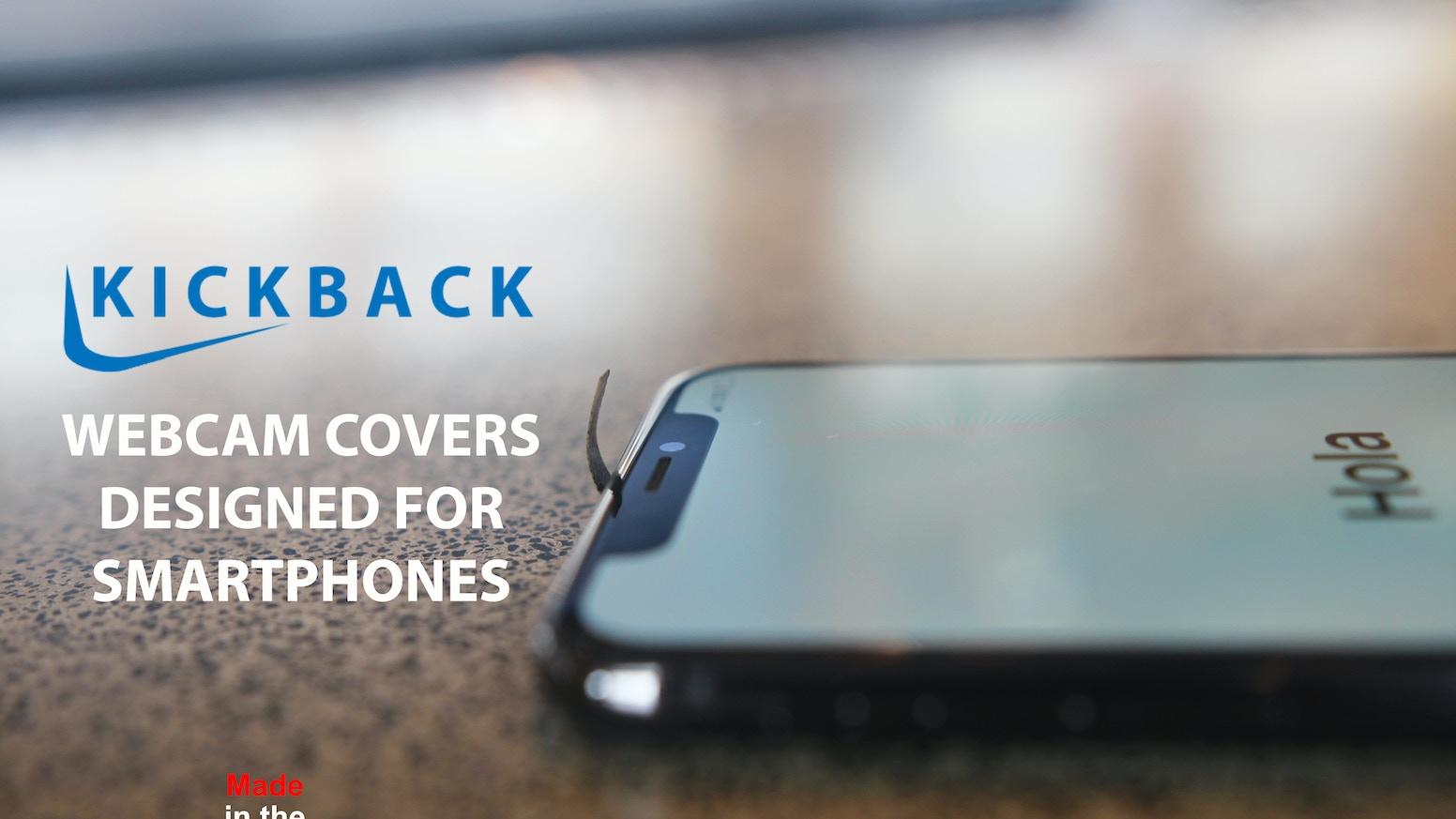 low priced 6ab3e 5fa50 Kickback - Webcam Covers Designed for Smartphones. by DesignLite ...