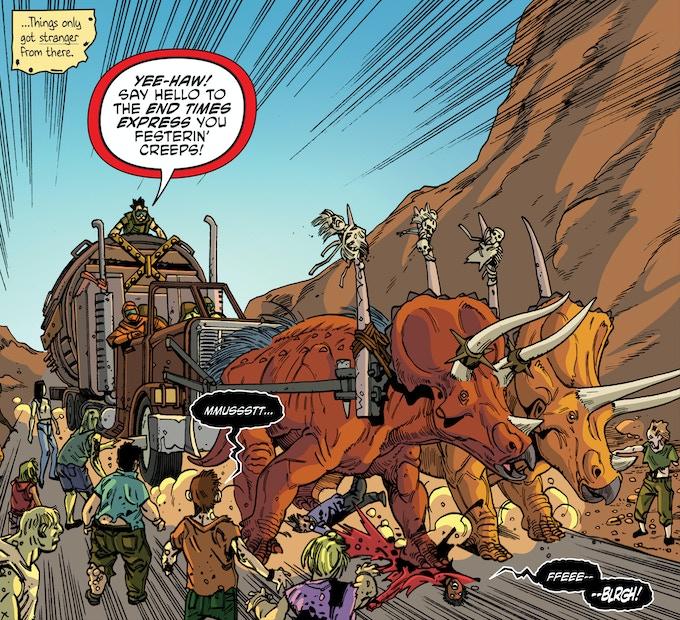 """""""Dino-Raiders"""" - Chaos Theory Vol. 2: Issue #1"""