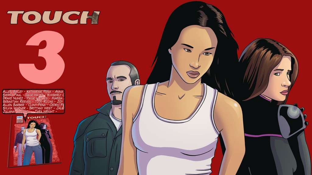Touch #3 - Sexy crime thriller comic (English & Deutsch) project video thumbnail