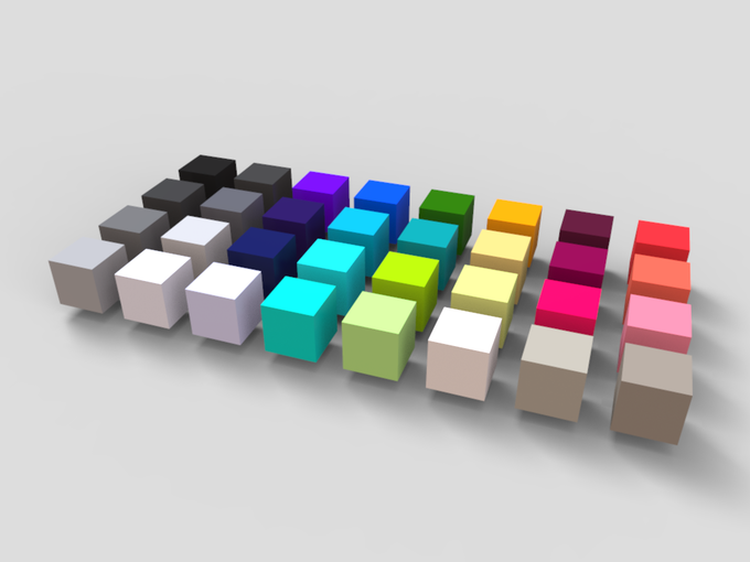 HUB palette