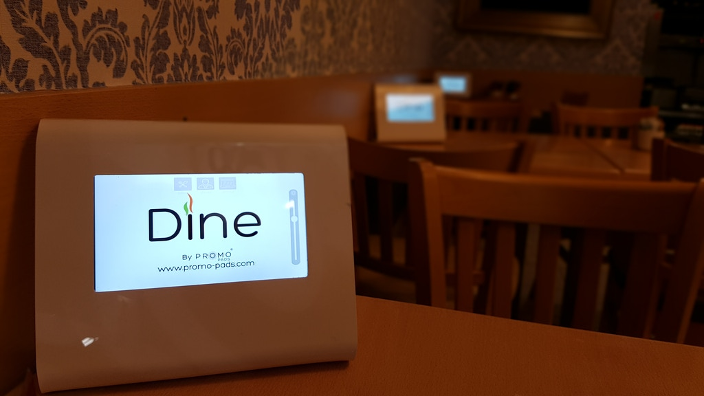 Dine® Digital Menu System