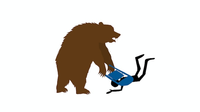 Bears are all about illegal moves