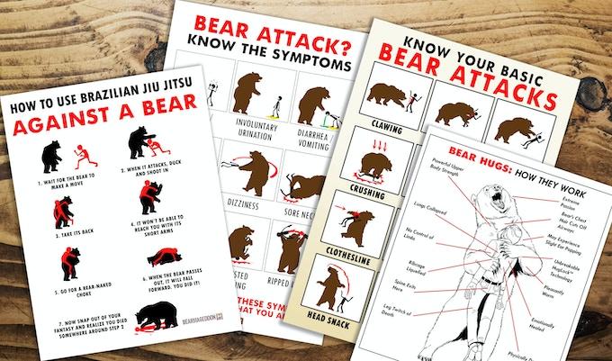 Bear Safety Prints