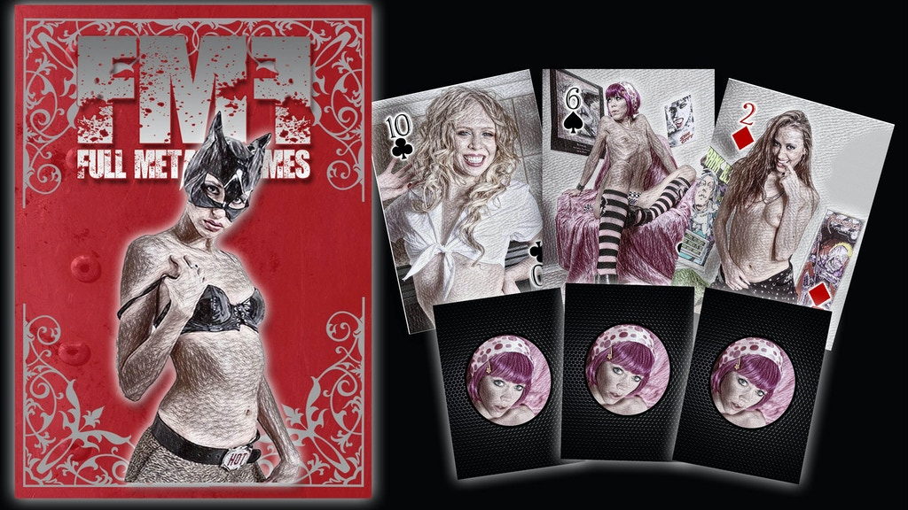 FULL METAL FEMMES: Pinups Vol. One Poker Playing Cards ...