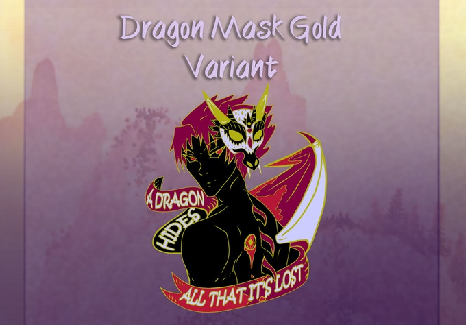 Dragon Mask Gold Variant