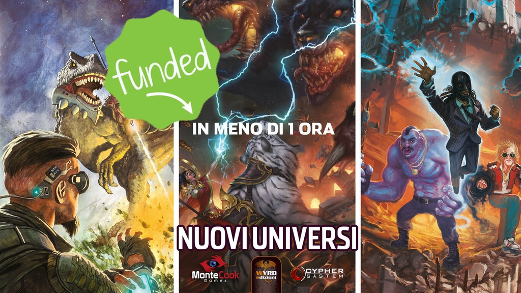 Nuovi Universi del Cypher System project video thumbnail