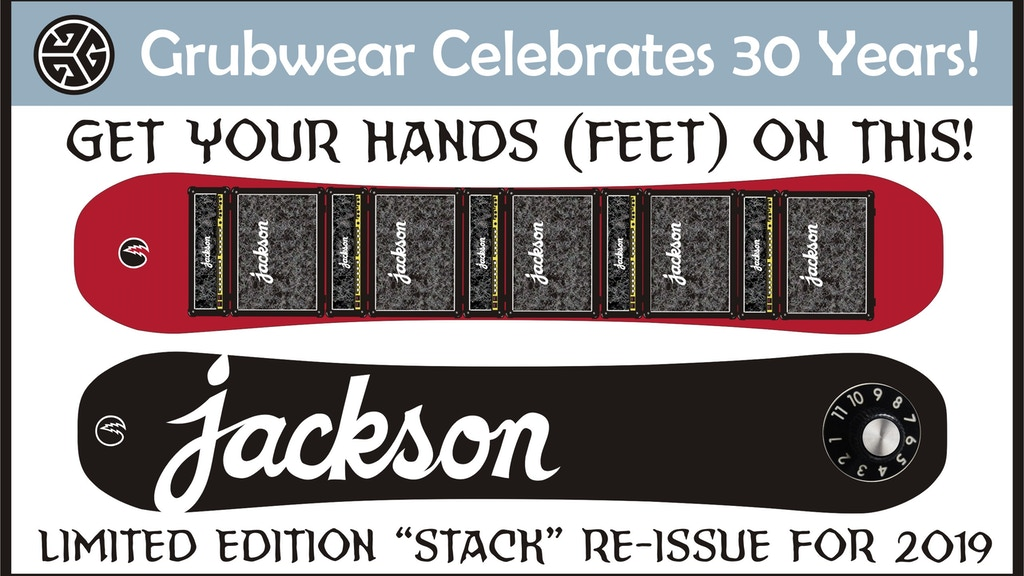 Grubwear - Jackson Snowboards 30 Year Anniversary Launch. project video thumbnail