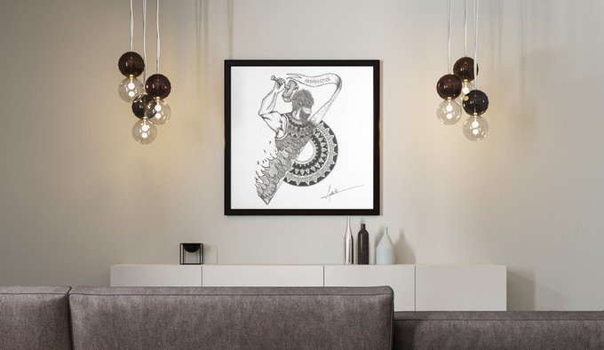 Decorate your house with fine art drawing
