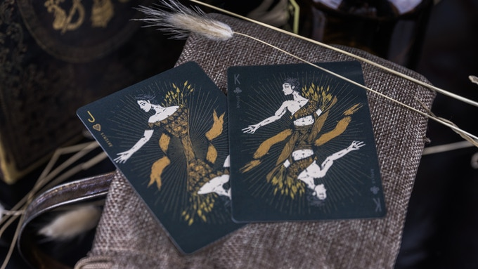 Artemis and Apollo are Courts Cards as well