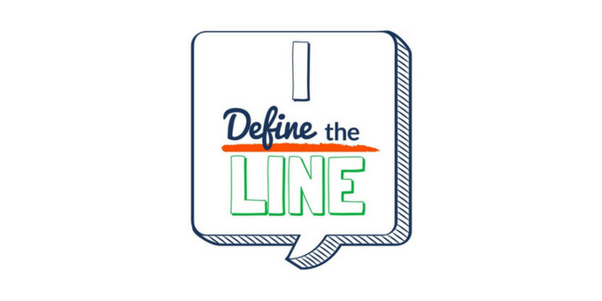 Concept art of Define the Line sticker