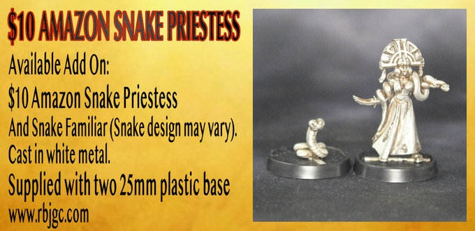 SNAKE PRIESTESS ADD ON