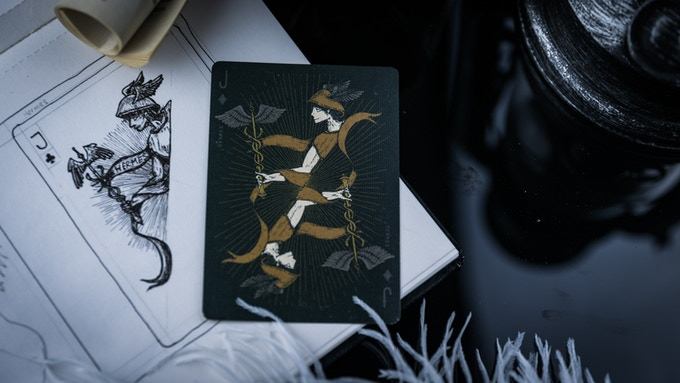 Prototype playing cards from MPC