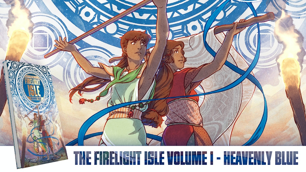 The Firelight Isle Volume 1: Heavenly Blue project video thumbnail