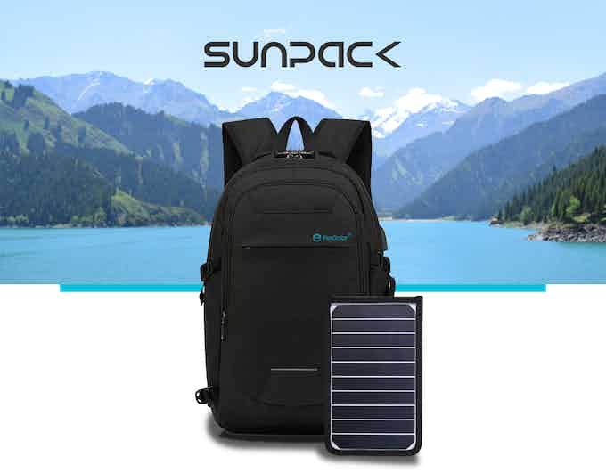 Make a Pledge and Support SunPack on Kickstarter !!