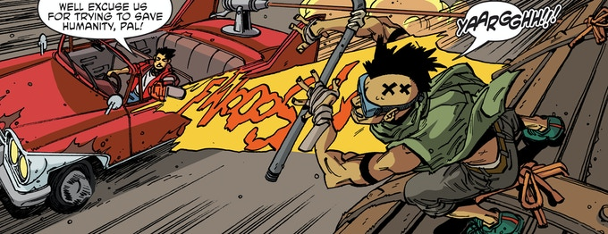 """""""Max's New Ride"""" - Chaos Theory Vol. 2: Issue #1"""