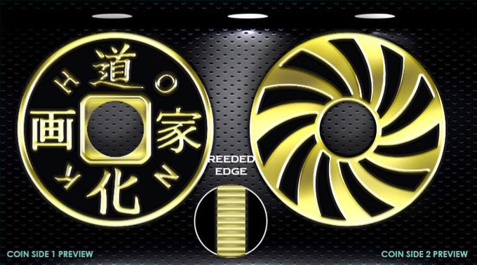 New Chinese Coin Design