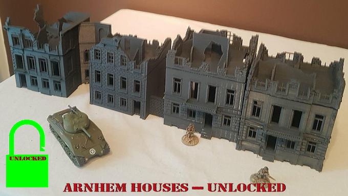 Arnhem Houses - Unlocked