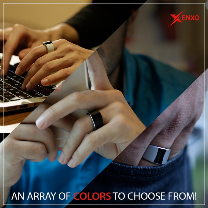 Three different shades of the S-Ring you love to look more cool and stylish.
