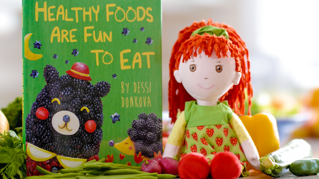 The World's First Healthy Eating Doll and Fun Picture Book project video thumbnail