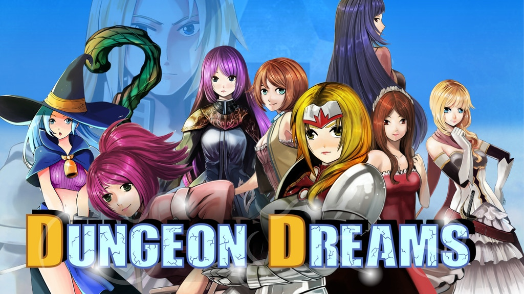 Dungeon Dreams: Roguelike-style Romance JRPG project video thumbnail
