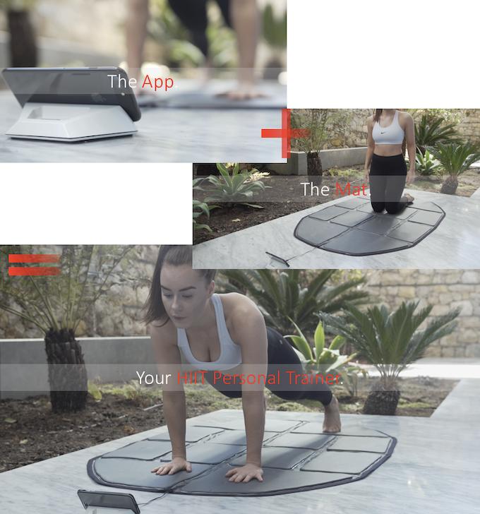 The Modern Integrated Fitness Mat & Mobile App