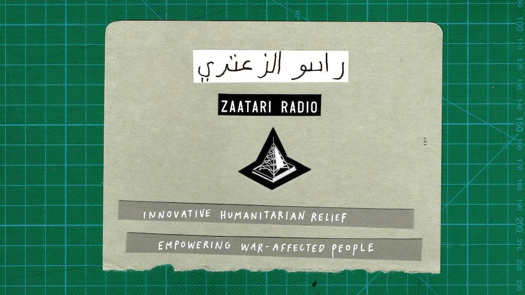 Zaatari Radio: empowering refugees through radio project video thumbnail