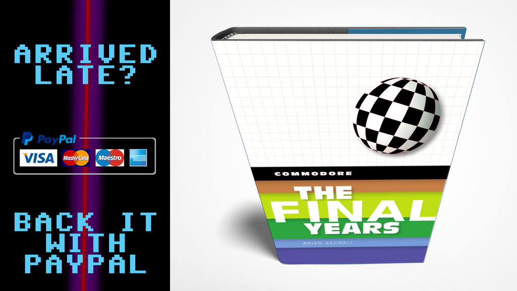 Commodore: The Final Years book project video thumbnail