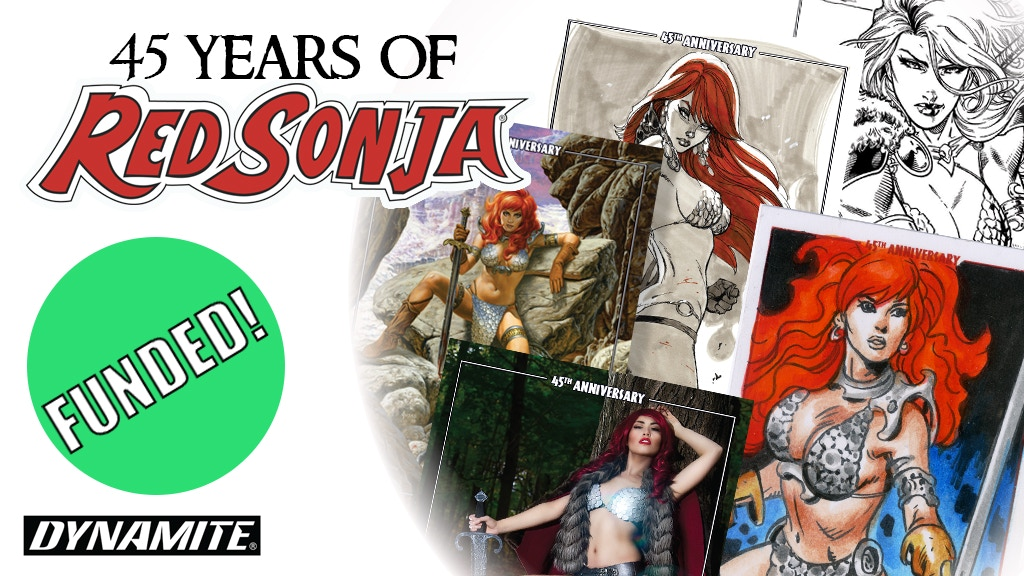Red Sonja 45th Anniversary Collectible Cards project video thumbnail
