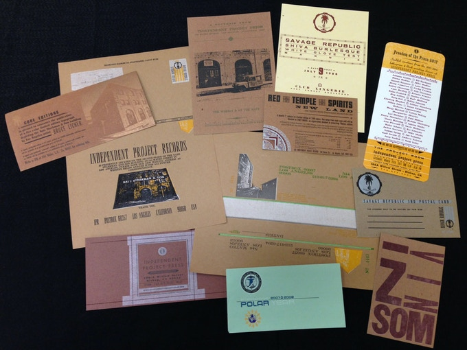 Mini IPP/IPR Ephemera Pack (10 letterpress-printed items, plus oversized perforated IPP business card)
