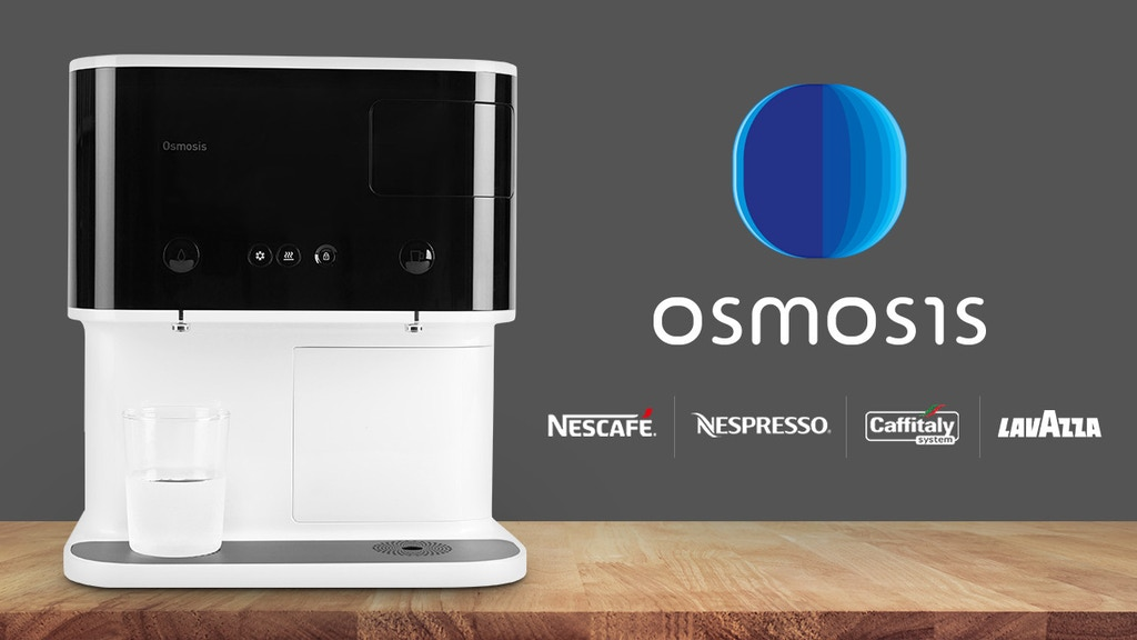 Osmosis 3-in-1 Multi-Capsule Beverage Bar project video thumbnail