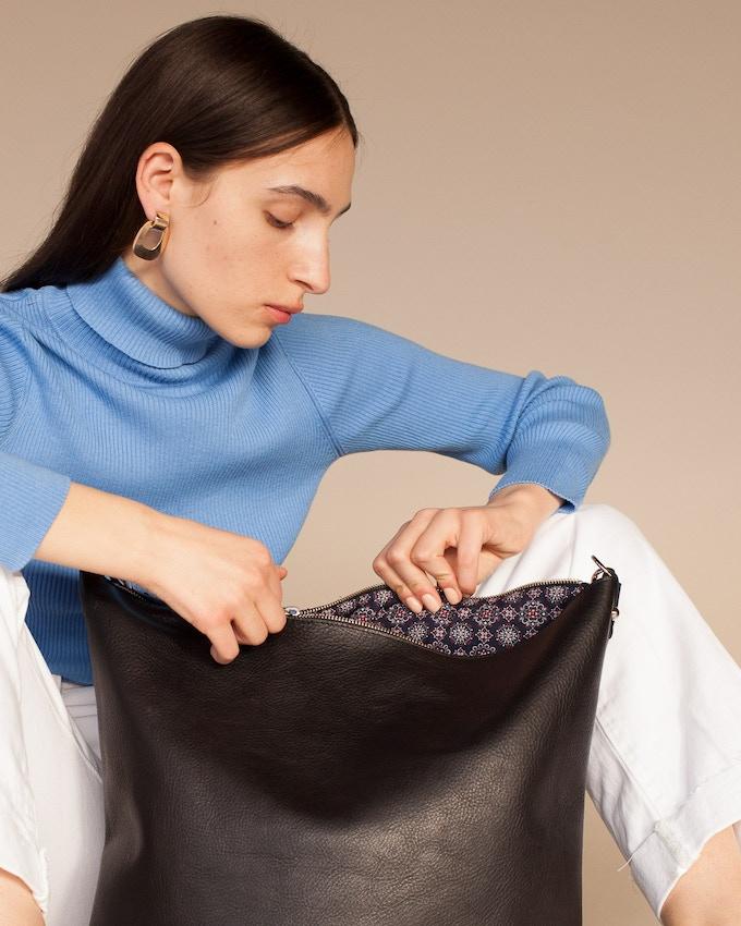 The Jacqui Bag, Cotton Lining