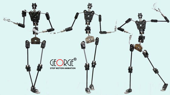 GEORGE® THE WORLD'S BEST ARMATURE FOR STOP MOTION ANIMATION